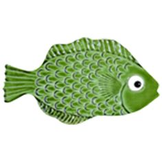 Mini Tropical Fish Green 4""