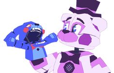Funtime Freddy is just like WHAT. Fnaf Gif, Anime Fnaf, Funny Fnaf, Five Nights At Freddy's, Freddy S, Bon Bon Fnaf, Fnaf Night Guards, Fnaf Wallpapers, Fnaf Characters