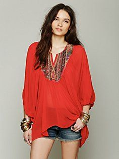 All The Riches Oversize Tunic in clothes-tops