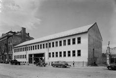 Zsolcai kapu 9-11., az AFIT XVI. sz. Autójavító Vállalat építkezése.