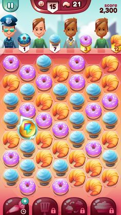 cupcake carnival iOS - Google Search