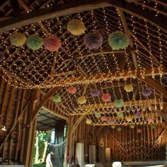 4 things you absolutely need for a barn wedding