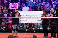 Professional wrestler John Cena wears pink for his brother who is a breast cancer survivor. Breast Cancer Survivor, Breast Cancer Awareness, Susan G Komen, Pink Out, Men Wear, John Cena, Wwe Superstars, Real Men, The Cure