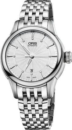 e0445ce7821 Oris Artelier Date Diamonds 56176874051MB