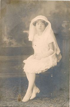 Mommy's First Holy Communion