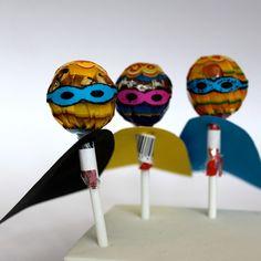 tootsie or blow pop superheroes!!