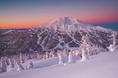 Mount Bachelor Winter by Alan Howe on 500px