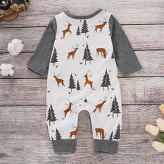 Emmababy Infant Newborn Boy Girl Romper Autumn Winter Jumpsuit Baby Playsuit Clothes for Lovely Fashion Children Baby Outfits, Toddler Outfits, Kids Outfits, Maternity Outfits, Toddler Fashion, Boy Fashion, Fashion Children, Young Fashion, Shower Outfits