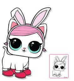 LOL Surprise Doll Coloring Pages – Page 3 – Color your favorite LOL Surprise Doll!