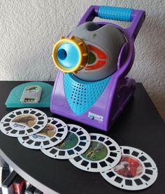 Fisher Price View Master Projector lights & sounds Discovery Channel WORKS 2005 #FisherPrice View Master, Discovery Channel, Projectors, Fisher Price, St Kitts, Trinidad And Tobago, It Works, Lights, Ebay