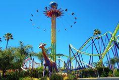 Six Flags, Vallejo, CA