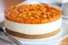 Pudding Desserts, No Bake Desserts, Cake Recipes, Dessert Recipes, Norwegian Food, Pastry Cake, Food Cakes, Christmas Desserts, Let Them Eat Cake