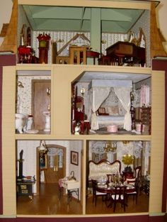 The Willowcrest 09 - The Willowcrest Dollhouse - Gallery - The Greenleaf Miniature Community