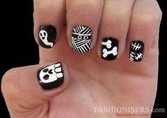 Last Minute Halloween Nail Art Designs  #nailart #halloween