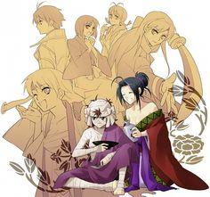 Tags: Anime, Rurouni Kenshin, Sagara Sanosuke, Makoto Shishio, Aoshi Shinomori, Seta Soujirou, Saitou Hajime (Rurouni Kenshin) By Chibi Raccoon http://www.zerochan.net/971648
