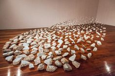 Lunar Cycle Installation Examines The Relationship Between The Moon And The Ocean.  Lizzie Buckmaster Dove