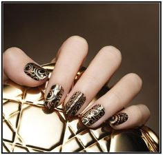 go for baroque #nails #nailart