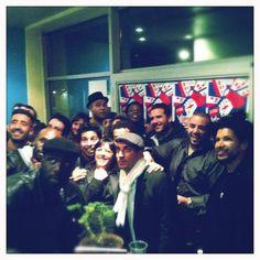Toute l'équipe de RENGAINE aux Pépites du Cinéma à la Courneuve
