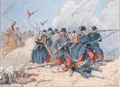 Le sergent Blandan à Beni-Mered