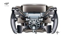 Following our looks at Mercedes' and Ferrari's steering wheels at 2016's first two races, in China we highlight that on Red Bull's RB12…