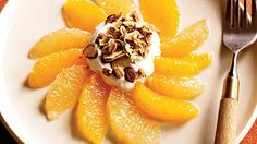 Morning Sundials | Prep: 10 minutes. This recipe can be prepped the night before. Just cut the grapefruit sections into one bowl and the orange sections into another.