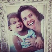 with my mama Patricia Riley at age 3