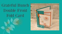 If you would like more information about a project or Stampin' Up! products please feel free to contact me.Thanks for watching! Blog: http://www.lisasstampst...