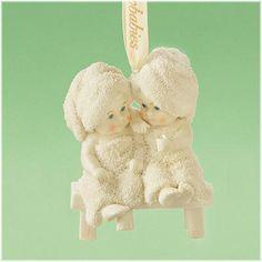 """Spa Girls"" Snowbaby Ornament"