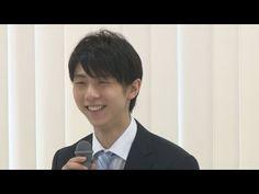 羽生選手に中日体育賞 来季はSP後半も4回転 - YouTube