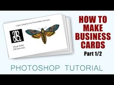 13 best photoshop tutorials images on pinterest photoshop tutorial how to make business cards with photoshop cc part colourmoves