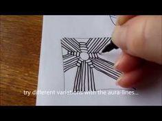 How to draw tanglepattern Arukas - YouTube