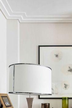 Sawgrass Modern Crown Molding, large : interior setting with modern crown molding Crown Molding Modern, Ceiling Crown Molding, Plaster Ceiling Design, Ceiling Trim, Moldings And Trim, Crown Molding In Bedroom, Faux Crown Moldings, Moulding, Interior Trim