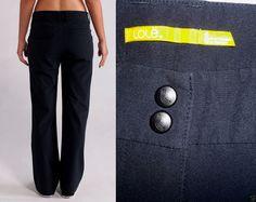 Lole Travel Pants Active High Performance Straight-Leg Trouser Black 6 *NICE* #Lole