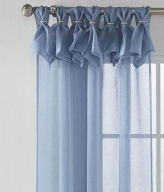 Caroline Sheer Loop-Top Curtains - Pair