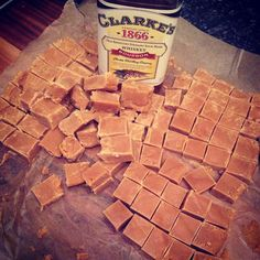 Nelly's Cupcakes: Whiskey Flavoured Scottish Tablet.
