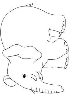 Coloring page Card Patterns, Applique Patterns, Quilt Patterns, Elephant Poster, Elephant Quilt, Embroidery Transfers, Hand Embroidery, Coloring For Kids, Coloring Pages