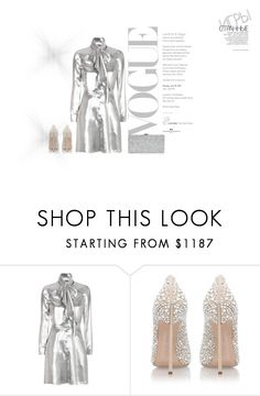 """Untitled #7021"" by tailichuns ❤ liked on Polyvore featuring Yves Saint Laurent, Casadei, Milly and Hedi Slimane"