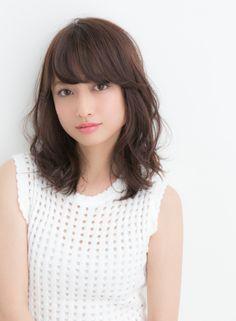 ナチュラルウエーブ 【Ramie】 http://beautynavi.woman.excite.co.jp/salon/27006?pint ≪ #mediumhair #mediumstyle #mediumhairstyle #hairstyle・ミディアム・ヘアスタイル・髪形・髪型≫