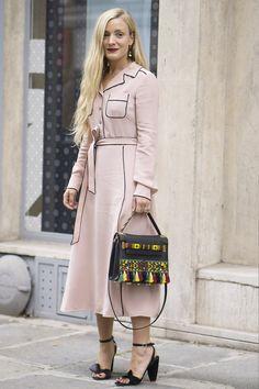 Paris Fashion Week Street Style Spring 2017 - Day 6