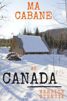 Cette «cabane» au Canada que l'on nomme oTENTik est une sorte d'hybride entre une tente et une cabane rustique dans les bois. On y dort en été comme en hiver, mais l'environnement paisible que créé le feutré de la neige me fait croire qu'on y est encore mieux à cette saison que lors des canicules de juillet. #Quebecoriginal #quebec #Mauricie #Canada #Voyage #Camping #Glamping