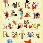 Disney Alphabet - I think we need this!