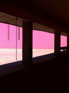 Cuadra San Cristóbal by Luis Barragan, photo by .nrq., via Flickr