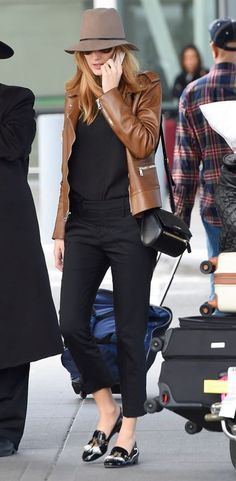 Blake Lively Tassled Loafers 2017 Street Style