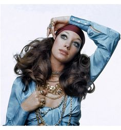 Marisa Berenson - 1970s style.