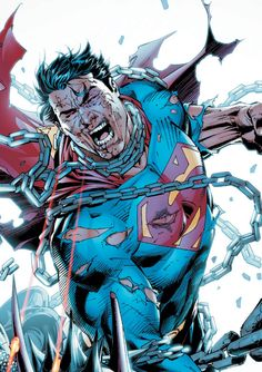 Superman....strive to break free from the oppresive machine.