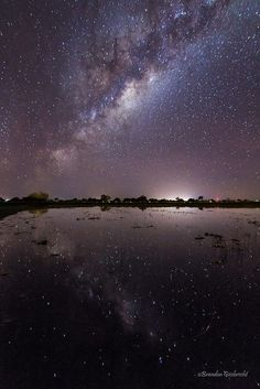 Milky Way Reflection - Chaco, Paraguay  l @perutravelnow