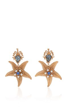 Starfish Earrings by DOLCE & GABBANA for Preorder on Moda Operandi