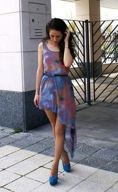 ·Galaxy Dress· (by Raquel T.G.) http://lookbook.nu/look/3385899-Galaxy-Dress