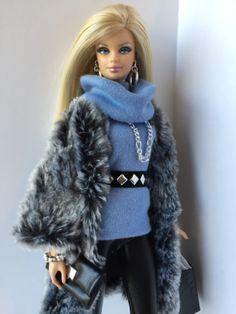 Handmade-OOAK-10-Piece-Ensemble-for-Barbie-Basics-Silkstone-Fashion-Royalty