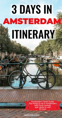 3 Days in Amsterdam Itinerary: Amsterdam City Break Travel Guide For First Time Visitors — HUES OF D - This 3 days in Amsterdam itinerary is jam packed with the best things to do in Amsterdam weekend ci - 3 Days In Amsterdam, Amsterdam Things To Do In, Visit Amsterdam, Amsterdam City, Amsterdam Breakfast, Amsterdam Vegan, Amsterdam Netherlands, Amsterdam Itinerary, Amsterdam Travel Guide